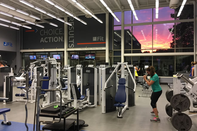fitness centers air conditioning services near me